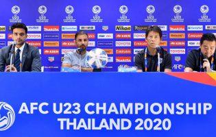 นิชิโนะ กระตุ้น ช้างศึก U23 เล่นตามคอนเซปต์ ที่ซ้อมในการรับมือ ซาอุฯ รอบ 8 ทีม ชิงแชมป์เอเชีย