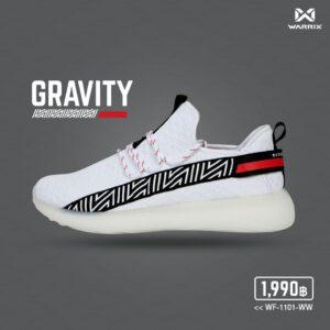 WARRIX รองเท้า Street Series 1 สีขาว รุ่น Gravity WF-1101-WW