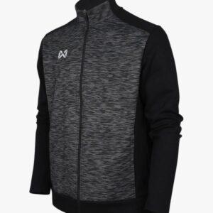 WARRIX เสื้อวอร์ม สีดำ-เทา รุ่น WA-1720-AE