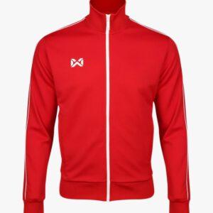 WARRIX เสื้อวอร์ม สีแดง-ขาว รุ่น WA-1726-RW