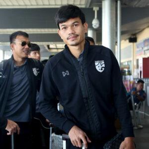 เสื้อวอร์ม  ทีมชาติไทย สีดำ WA-17FT21M1N2-AA