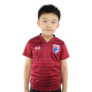 เสื้อเชียร์ทีมชาติไทย 2019 สีแดง สำหรับเด็ก WA-19FT53K-RR