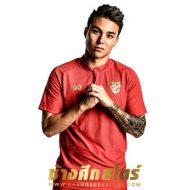 WARRIX REPLICA เสื้อทีมชาติไทย ปี 2020 สีแดง WA-20FT52M-RR