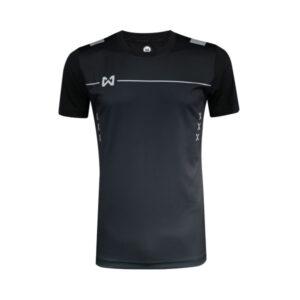เสื้อฟุตบอล Warrix รุ่น Tripple-X สีดำ WA-1551-AA