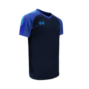 เสื้อฟุตบอล Warrix รุ่น Amando สีกรมท่า-น้ำเงิน WA-1556-DB