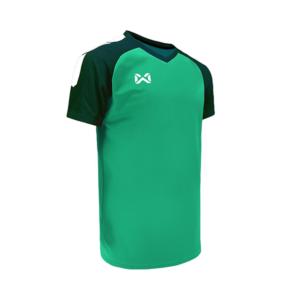 เสื้อฟุตบอล Warrix รุ่น Amando สีเขียว WA-1556-GG