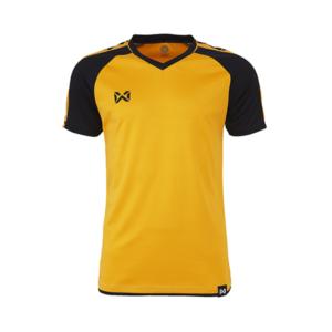 เสื้อฟุตบอล Warrix รุ่น Amando สีทอง-ดำ WA-1556-NA
