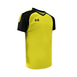 เสื้อฟุตบอล Warrix รุ่น Amando สีเหลือง-ดำ WA-1556-YA