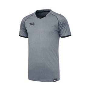 WARRIX เสื้อฟุตบอล รุ่น LONZO สีดำ-เทา WA-1558-AE