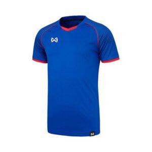 WARRIX เสื้อฟุตบอล รุ่น LONZO สีน้ำเงิน-แดง WA-1558-BR
