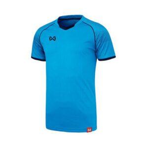 WARRIX เสื้อฟุตบอล รุ่น LONZO สีฟ้า-กรมท่า WA-1558-LD