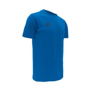 เสื้อฟุตบอลคอกลม Warrix สีฟ้า WA-1559-LL