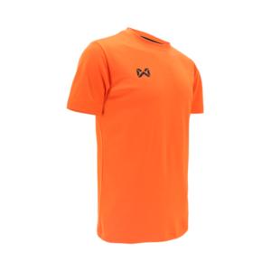 เสื้อฟุตบอลคอกลม Warrix สีส้ม WA-1559-OO