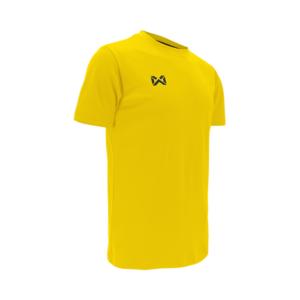 เสื้อฟุตบอลคอกลม Warrix สีเหลือง WA-1559-YY