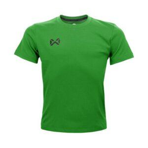 เสื้อฟุตบอลคอกลมเด็ก WARRIX สีเขียว WA-1559K-GG