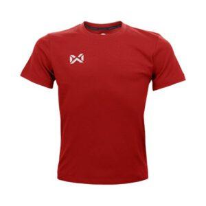 เสื้อฟุตบอลคอกลมเด็ก WARRIX สีแดง WA-1559K-RR
