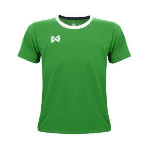 เสื้อฟุตบอลเด็ก WARRIX สีเขียว-ขาว WA-1560K-GW