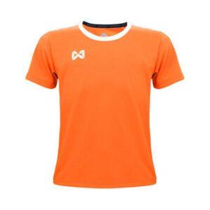 เสื้อฟุตบอลเด็ก WARRIX สีส้ม-ขาว WA-1560K-OW