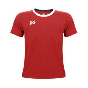 เสื้อฟุตบอลเด็ก WARRIX สีแดง-ขาว WA-1560K-RW