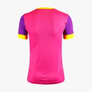เสื้อฟุตบอลตัดต่อ Warrix สีชมพู-ม่วง WA-1561-PV