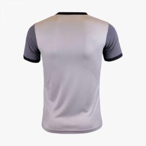 เสื้อฟุตบอลพิมพ์ลาย Warrix สีเทา WA-1564-EE