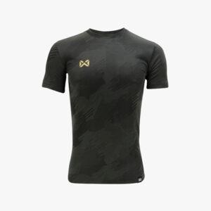 WARRIX เสื้อฟุตบอลทอลาย Camo สีดำ WA-1567-AA
