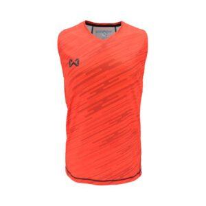 เสื้อวิ่งแขนกุด WARRIX สีส้ม WA-1607-OO