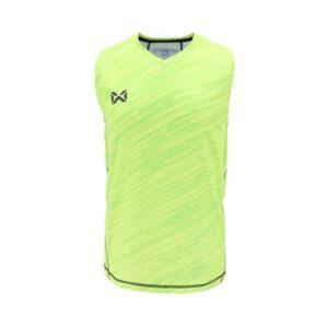 เสื้อวิ่งแขนกุด WARRIX สีเหลือง WA-1607-YY