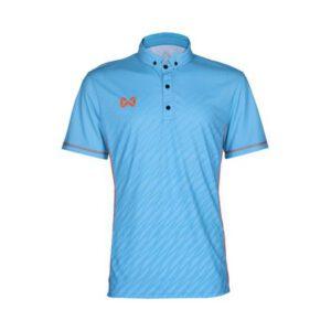 เสื้อแบตมินตันรุ่น BEAT SPRINT สีฟ้า WA-1608-LL
