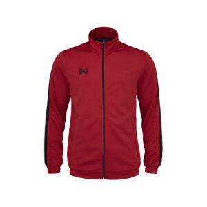 WARRIX เสื้อวอร์ม สีแดง-ดำ รุ่น WA-1718-RA