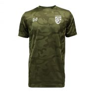 WARRIX เสื้อฟุตบอล รุ่น CAMO พร้อมโลโก้ทีมชาติไทย สีเขียว WA-18FT12M2-GG