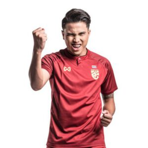เสื้อทีมชาติไทย ปี 2018 สีแดง-ดำ WA-18FT52M-RA