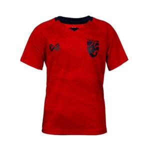 เสื้อเชียร์ทีมชาติไทย 2020 (เด็ก) สีแดง-กรมท่า WA-20FT53K-RD