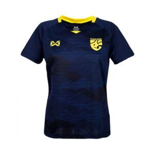 WARRIX เสื้อเชียร์ทีมชาติไทย 2020 (ผู้หญิง) สีกรมท่า-เหลือง WA-20FT53W-DY