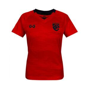 WARRIX เสื้อเชียร์ทีมชาติไทย 2020 (ผู้หญิง) สีแดง-กรมท่า WA-20FT53W-RD