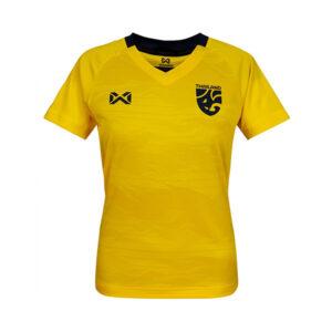 WARRIX เสื้อเชียร์ทีมชาติไทย 2020 (ผู้หญิง) สีเหลือง WA-20FT53W-YD