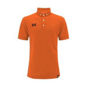 เสื้อโปโล WARRIX สีส้ม รุ่น WA-3315N-OO