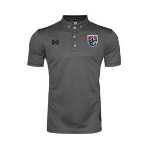เสื้อโปโลช้างศึก ทีมชาติไทย สีเทา WA-3315NFTM2-AA