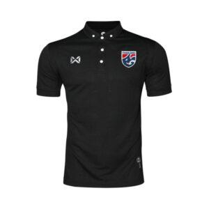 WARRIX เสื้อโปโลช้างศึก ทีมชาติไทย สีดำ WA-3315NFTM2-BB