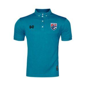 เสื้อโปโลช้างศึก ทีมชาติไทย สีเทอควอยซ์ WA-3315NFTM2-CC