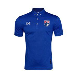 เสื้อโปโลช้างศึก ทีมชาติไทย สีน้ำเงินเข้ม WA-3315NFTM2-DT