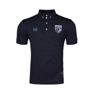 เสื้อโปโลช้างศึก ทีมชาติไทย สีกรมท่า WA-3315NFTM2-EE