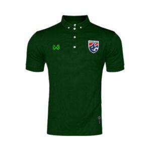 เสื้อโปโลช้างศึก ทีมชาติไทย สีเขียว WA-3315NFTM2-GG