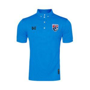 เสื้อโปโลช้างศึก ทีมชาติไทย สีฟ้า WA-3315NFTM2-LL