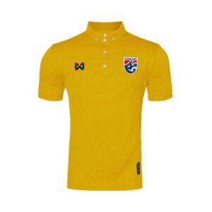 เสื้อโปโลช้างศึก ทีมชาติไทย สีทอง WA-3315NFTM2-NN