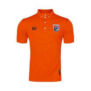 เสื้อโปโลช้างศึก ทีมชาติไทย สีส้ม WA-3315NFTM2-OO