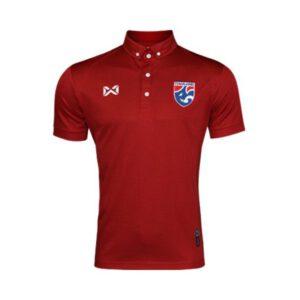 เสื้อโปโลช้างศึก ทีมชาติไทย สีแดงเข้ม WA-3315NFTM2-RT