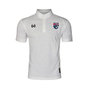 เสื้อโปโลช้างศึก ทีมชาติไทย สีขาว WA-3315NFTM2-WW