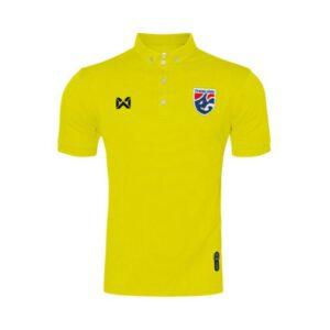 เสื้อโปโลช้างศึก ทีมชาติไทย สีเหลือง WA-3315NFTM2-YY