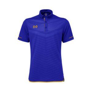 เสื้อโปโล WARRIX สีฟ้า-น้ำทะเล WA-3318N-BN